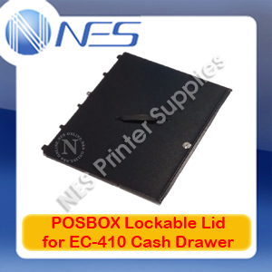 POSBOX Genuine Lockable Lid for EC-410 Cash Drawer 1323009 (BCD-EC410-B-LID)