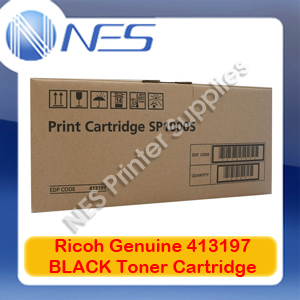 Ricoh Genuine 413197 BLACK Toner Cartridge for SP1000SF/FAX1140L (4K)