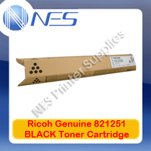 Ricoh Genuine 821251 BLACK Toner Cartridge for Aficio SP-C435DN (11K)