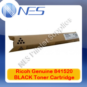 Ricoh Genuine 841520 BLACK Toner Cartridge for MP-C2051/MP-C2501/MP-C2551 (10K)