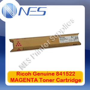 Ricoh Genuine 841522 MAGENTA Toner Cartridge for MP-C2030/MP-C2050/MP-C2051/MP-C2501/MP-C2530 (9.5K)