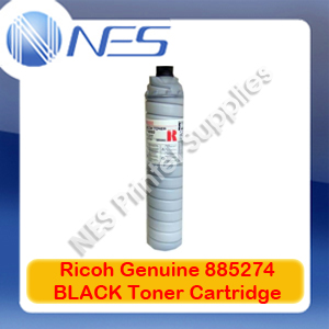 Ricoh Genuine 885274 BLACK Toner Cartridge for 1060/1075/2051/2060/2075 TYPE-6210D (43K)