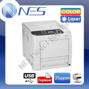 Ricoh SP-C320DN Color Laser Network Printer+Auto Duplex+3-Year Warranty 25PPM (P/N:406791)