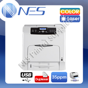 Ricoh SP-C435DN Color Laser Network Printer+Auto Duplex+3-Year Warranty