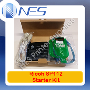 Ricoh Genuine Starter Kit with Toner Cartridge+USB+Power Cable for SP112 Printer