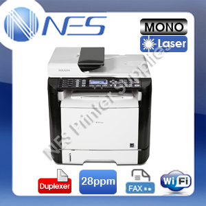 Ricoh SP-311SFNW 4-in-1 Mono Laser Wireless Multifunction Printer+FAX+Auto Duplex (P/N:R407241)