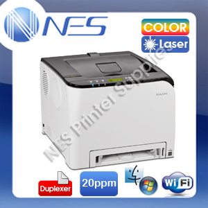 RICOH SPC-252DN Wireless Network Color Laser Printer+Auto Duplexer