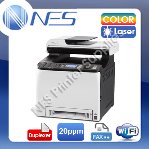 RICOH SPC252SF 4in1 Wireless Color Laser MFP Printer+Duplex+FAX PC/MAC