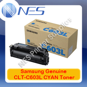 Samsung Genuine CLT-C603L CYAN Toner Cartridge for SL-C4010/SL-C4060 [SV232A] 10K