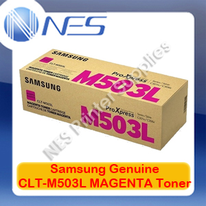 Samsung Genuine CLT-M503L MAGENTA Toner Cartridge for SL-C3010ND/SL-C3060FR (SU283A)