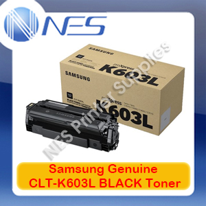 Samsung Genuine CLT-K603L BLACK Toner Cartridge for SL-C4010/SL-C4060 [SV241A] 15K