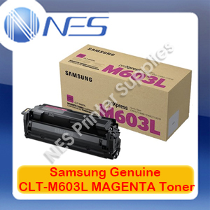 Samsung Genuine CLT-M603L MAGENTA Toner Cartridge for SL-C4010/SL-C4060 [SV247A] 10K