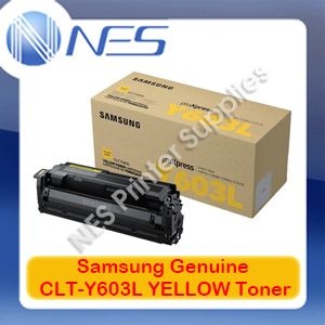 Samsung Genuine CLT-Y603L YELLOW Toner Cartridge for SL-C4010/SL-C4060 [SV253A] 10K
