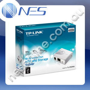 TP-LINK TL-PS310U Single USB2.0 Port MFP and Storage Server [TL-PS310U]