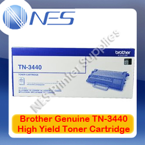 Brother Genuine TN-3440 High Yield Toner Cartridge for L6900DW/L6700DW/L5755DW (8K) TN3440