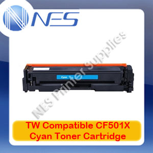TW Compatible #202X CYAN High Yield Toner Cart for HP M254dw/M280nw [CF501X]