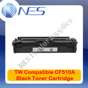 TW Compatible #204A BLACK Toner Cartridge for HP M181fw/M180n/M154nw [CF510A]