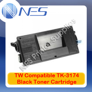 TW TK3174 A-Grade Compatible BLACK Toner Cartridge for Kyocera P3050DN (15.5K)