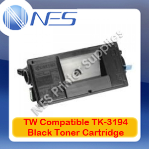 TW Compatible TK-3194BK BLACK Toner Cartridge for Kyocera P3055DN/P3060DN (25K)