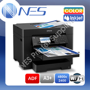 Epson WF-7720 Free Upgrade WF-7840 A3+ 4in1 Inkjet Wireless Printer+Dual Tray 25PPM [C11CH67501]
