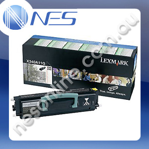 Lexmark Genuine X340A11G BLACK Toner Cartridge for Lexmark X342n MFP [X340A11G]
