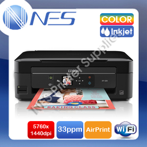 Epson Expression Home XP-320 3-in-1 Wireless Color Inkjet Printer+AirPrint #220 ink (P/N:C11CD87501)