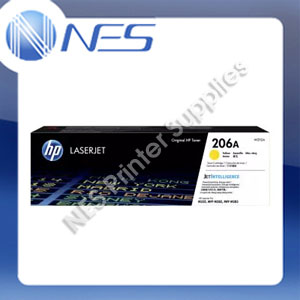 HP Genuine #206A Yellow Toner for M255dw/M255nw/M282NW/M283fdw/M283fnw (W2112A)