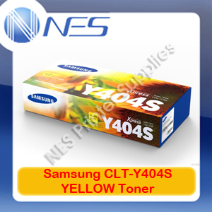 Samsung Genuine CLT-Y404S YELLOW Toner Cartridge for SL-C430W/SL-C480FW (1K) (SU457A)