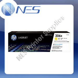 HP Genuine #206X HY Yellow Toner for M255dw/M255nw/M282NW/M283fdw/M283fnw (W2112X)