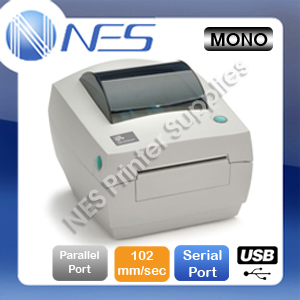Zebra GC420d Built-in USB+Parallel+Serial Port Direct Thermal Printer 203DPI [P/N:GC420-200540-000]