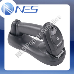 Zebra LI4278 Handheld USB Cordless Bluetooth Barcode Scanner Kit+Cradle *BLACK* [P/N:LI4278-TRBU0100ZAR]
