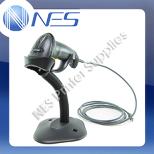 Zebra LS2208 Handheld Wired Barcode Scanner Kit with Stand+USB Cable *BLACK* P/N:[LS2208-SR20007R-UR]