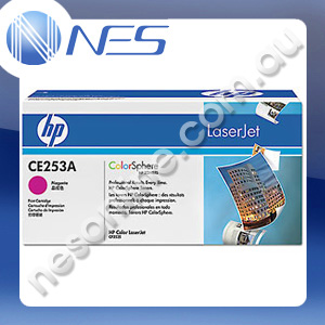 HP Genuine CE253A MAGENTA Toner Cartridge for HP LaserJet CM3530 MFP/CM3530fs MFP/CP3525/CP3525dn/CP3525n/CP3525x (7K Yield)