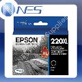 Epson 220XL-BK BLACK High Capacity Ink Cartridge for WorkForce WF2630/WF-2650/WF-2660 T294192